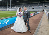 Sarah & Andrew | St James' Park | Newcastle